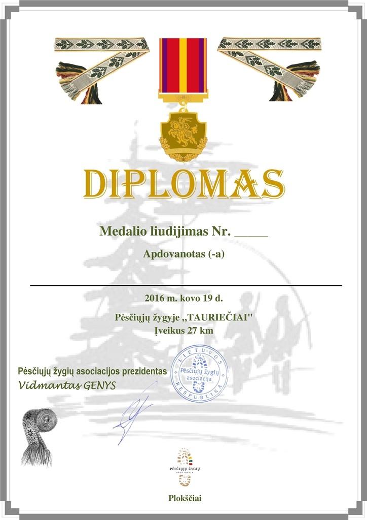 Taurieciai diplomas