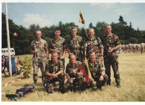 Nijmegen 2000 07 18-21 Lietuviai 001